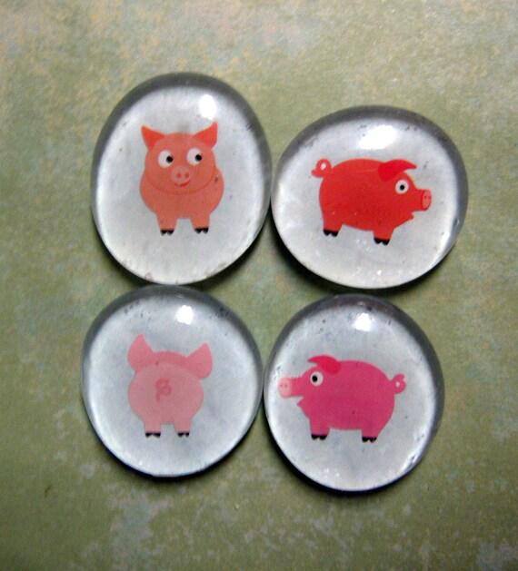 Piggy Magnet Set