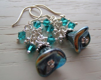 Earrings - Winter Blue - Dangles