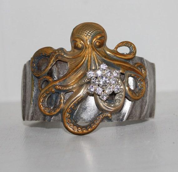 Kraken Cuff Bracelet