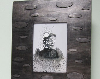 Clearance! Surreal Art Painting , Mixed Media Art , Mixed Media Painting , Altered Art , Framed Art
