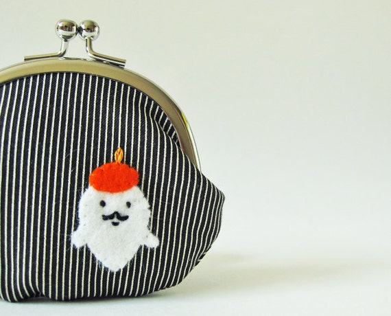 Coin purse Mr. Ghost