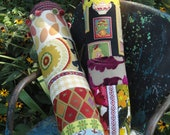 Colorful Patchwork Tube Bolster Pillow