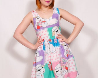 Lambchop Party Dress MADE TO ORDER