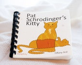 Baby's first physics book - Pat Schrodinger's Kitty - hand made