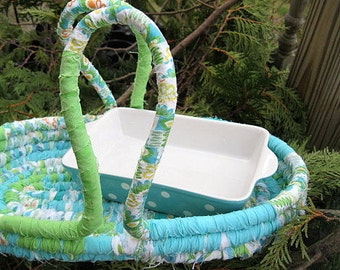 ALFRESCO  casserole DiSH and BASKET tote  SeT