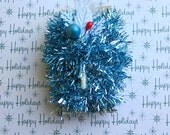 A little bit of blue tinsel