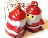 10% Off Christmas Earrings -- Jingle Bell Rock Santa Claus Earrings Kawaii Earrings