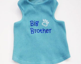 Big Brother Dog Tank : Dog Shirt Expectant Mother Gifts