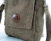 sling bag purse, green backpack, messenger bag converts to  tote bag ,olive green purse, womens handbag, crossbody bag, zipper bag, fit Ipad
