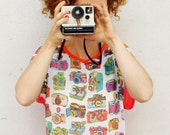 SALE!Printed analog camera t-shirt