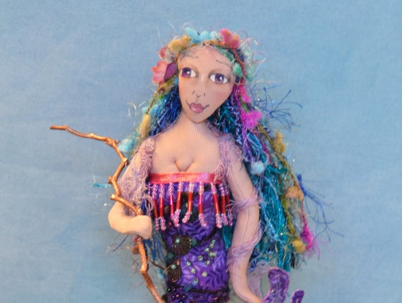 Mermaid Pincushion- Violet
