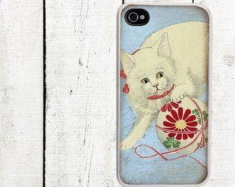 iphone 6 case WhiteCat iPhone 4 Case, iPhone 4 4s Case - iPhone 5 Case - Galaxy s3 s4 s5