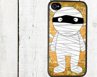 iphone 6 case iPhone Case- Mummy- Halloween iPhone 4 Case - iPhone 5 Case - Galaxy s3 s4 s5