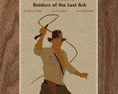 Indiana Jones and the Raiders of the Lost Ark 16x12 Poster Print