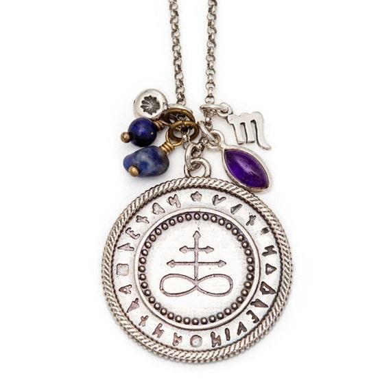 Alchemy Necklace - Brimstone