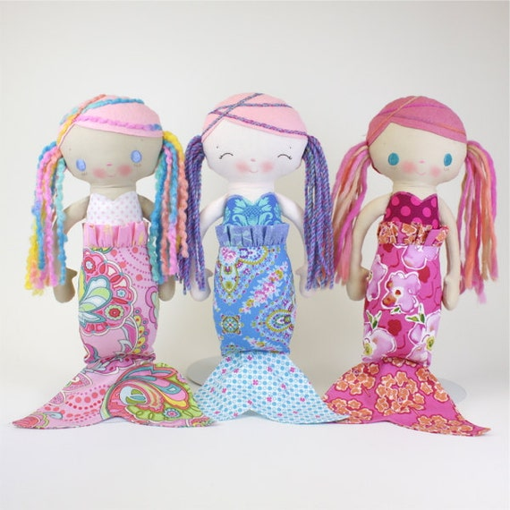SALE MerMae Mermaid PDF Doll Pattern
