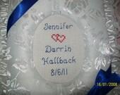 WEDDING Personalized Fabric Photo Album / Scrapbook