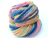 Soft, Rainbow, Hand Painted, Hand Dyed, Thick and Thin, Bulky, Yarn