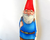 Gnome, Elf, Old Fashioned,  All Natural, Eco Kids Toy, Santa, Stocking Stuffer