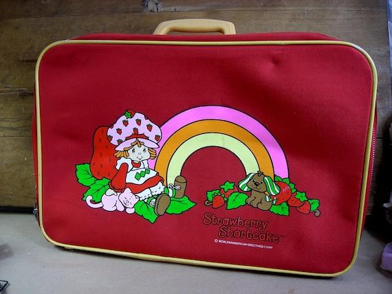 Strawberry Shortcake Suitcase Vintage 80s