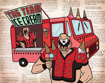 Tag Team Ice Cream Truck