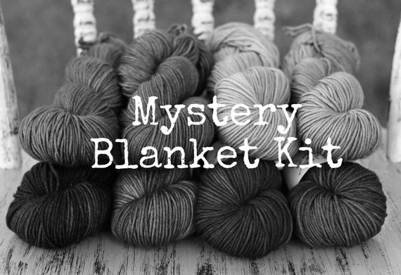 Blanket Kit---- Inspired by SOFT FOCUS  ------- Primo Worsted