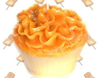 Toasted Marshmallow Cupcake Candle Vanilla Caramel Scent