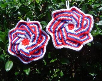 Pinwheel Potholders