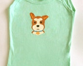 Top Dog Tank Top minty green