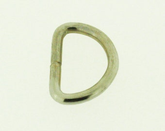 """48 pieces - Small D-Ring 1"""" x 0.75"""""""