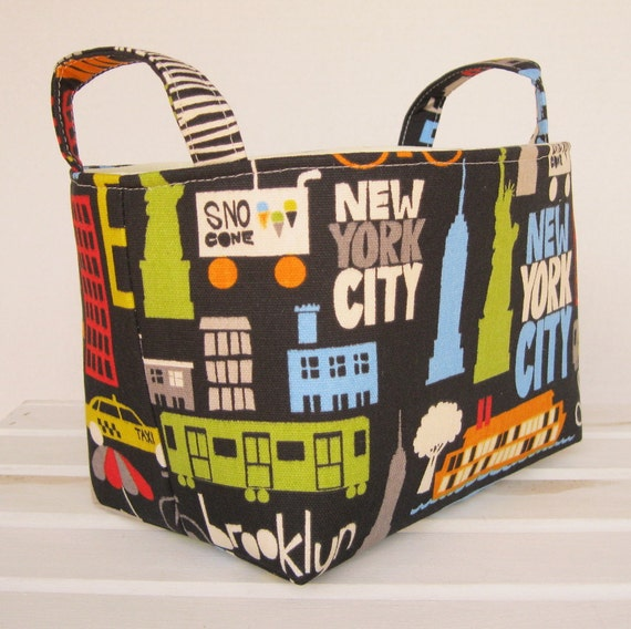 Storage and Organization - New York - New York - Fabric Basket  Organizer Container Bin
