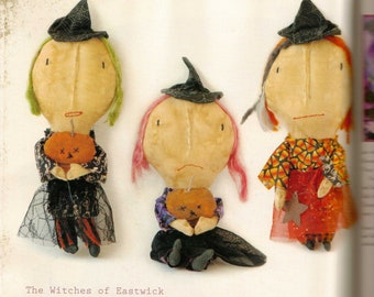 Primitive Witches of Eastwick Large-ready to ship