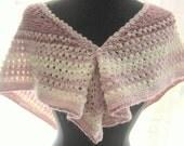Shoulder Scarf Shades of Pink