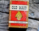 Vintage Old Maid Card Game by Russell