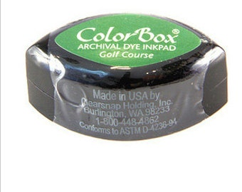 ColorBox Cat's Eye Dye Ink Pad - Golf Course Green
