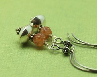 SALE Carnelian Earrings