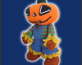 Amigurumi Pattern Crochet Scarecrow DIY Digital Download