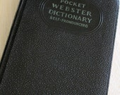 1937 Webster Pocket Dictionary