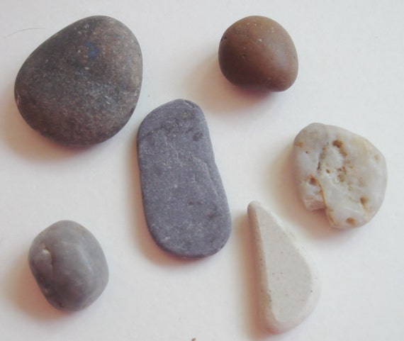 River Rocks - River Tumbled - Smooth Rocks - Unique - Findings -