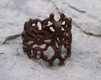 Filigree Ring - Adjustable