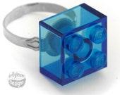 LEGO Blue Adjustable Ring