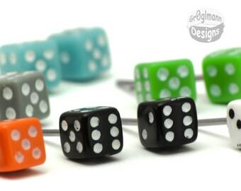 Earrings - Mini Dice