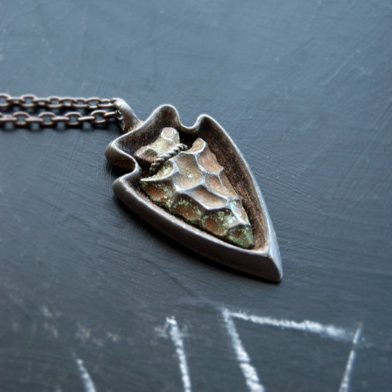 Sacred Talisman Arrowhead Unisex Necklace