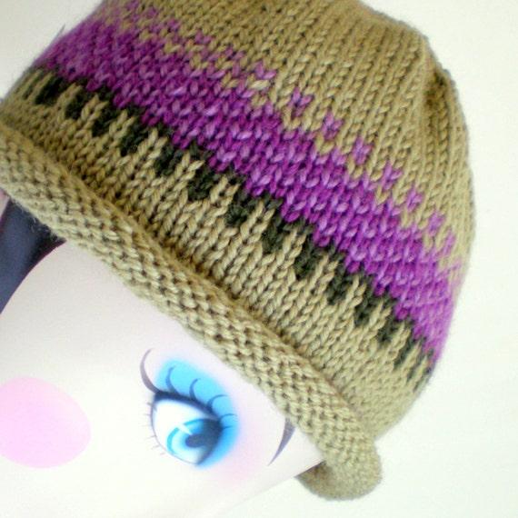 Women Knit Cloche Wool Hat - Liliac Field