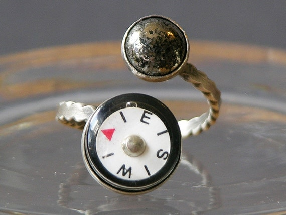 Southern Bound Ring Made With Working Compass