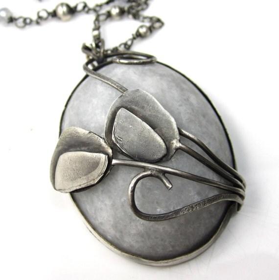 Flowers in June (Gloom) Necklace