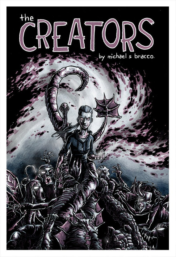 The CREATORS Part 1 - 44 page full color comic - graphic novel