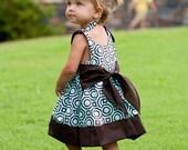 Sewing Pattern eBook - Tie Shoulder Dress and Top for Girls - PDF ePattern
