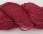 Raspberry Worsted Merino Wool