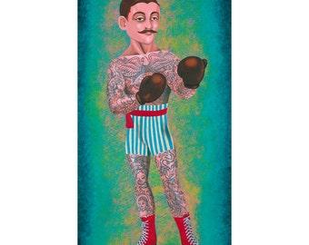 Mustachio Jacques Prints